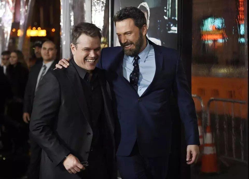 Ben Affleck and Matt Damon are bringing a Globe Magazine piece to the big screen. https://t.co/XAnZU8daNK