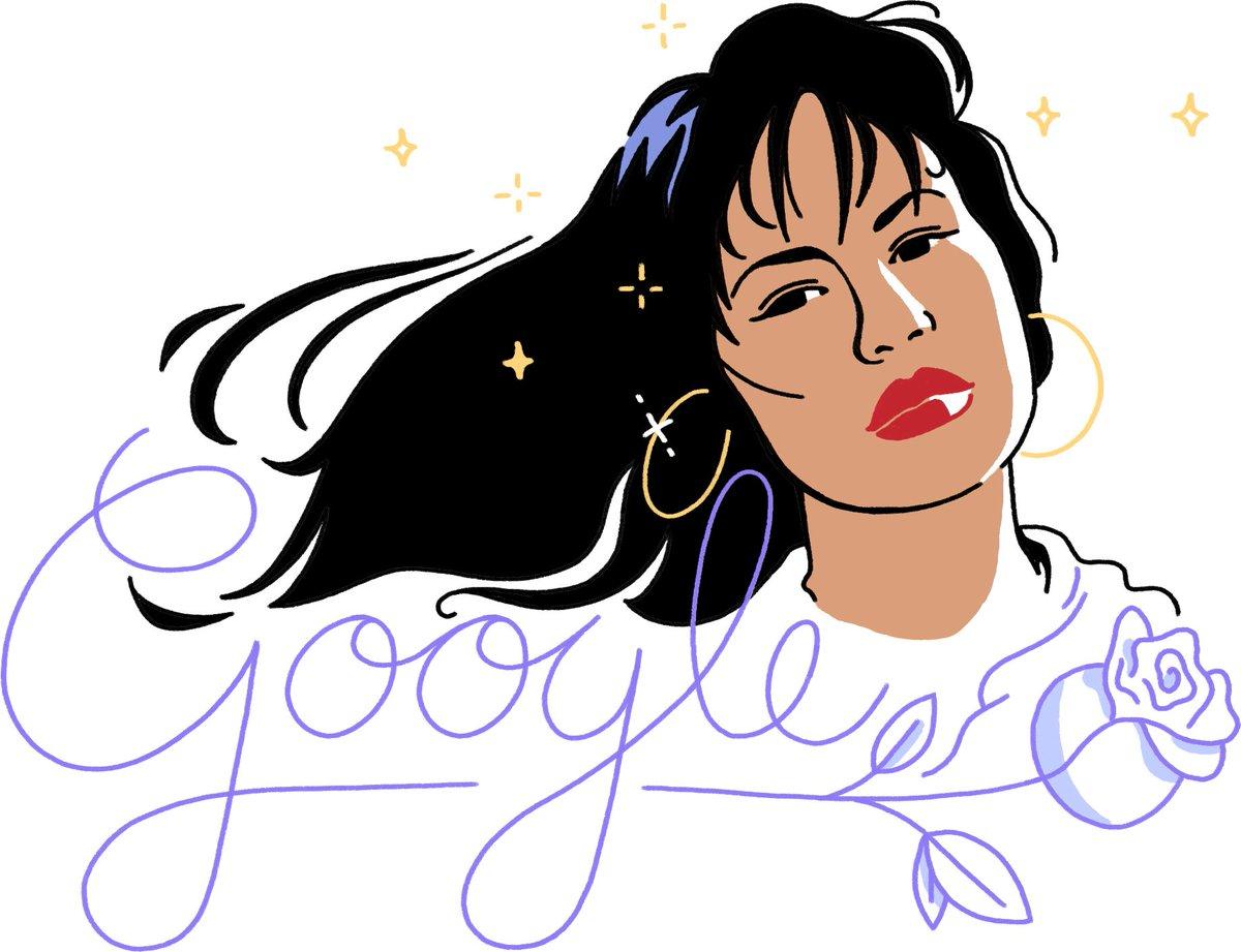 Anything for Selena ???? → https://t.co/o9ltx8O2CK #SelenaDoodle #GoogleDoodle @SelenaLaLeyenda https://t.co/KOl6GMB77y