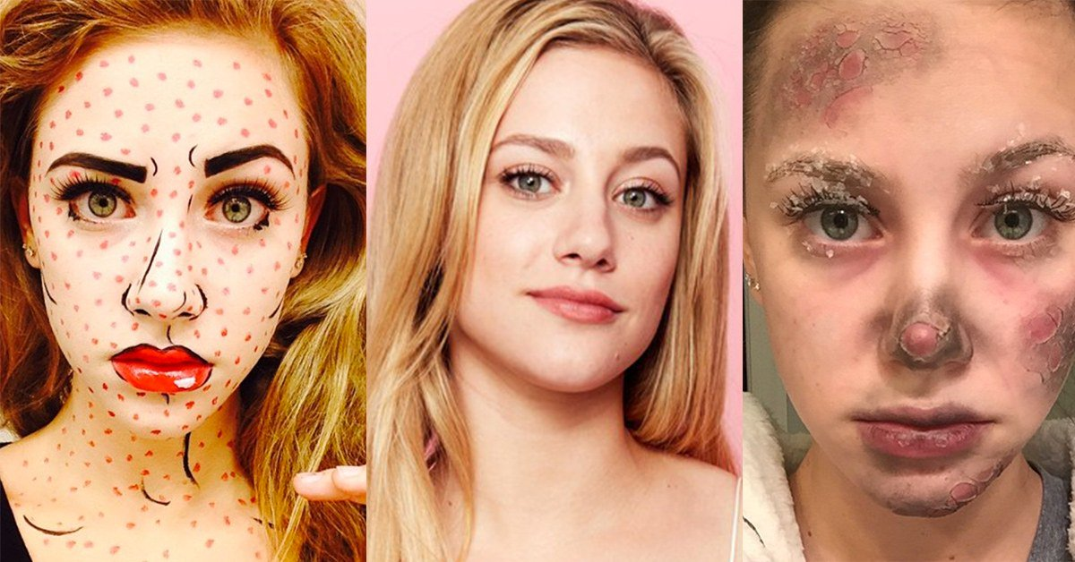 Lili Reinhart is low-key a Halloween makeup pro: https://t.co/pCEJvbHEFT https://t.co/D5zf4czvNH