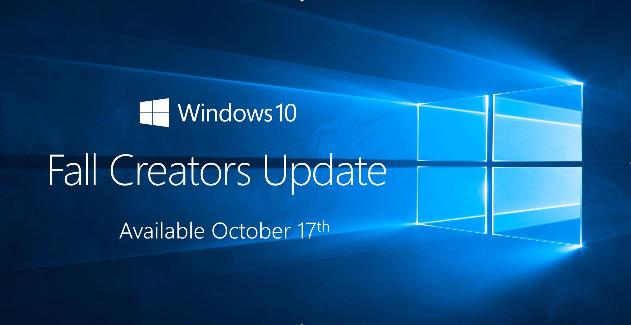 Windows 10 Fall Creators Update Final - Phiên bản chính thức sẵn sàng tải về