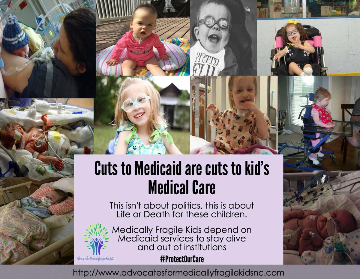 Pls call MoC &amp; ask them to oppose a $1 Trillion cut to #Medicaid. 202-224-3121 Medically fragile kids rely on it to stay Alive &amp; at home! <br>http://pic.twitter.com/KsVrkejVPX
