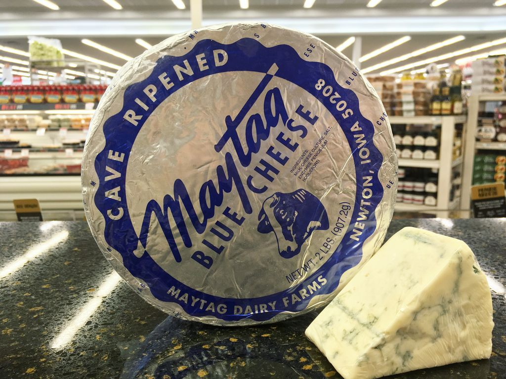 It's finally back! Maytag Blue Cheese from Newton, IA is available now...