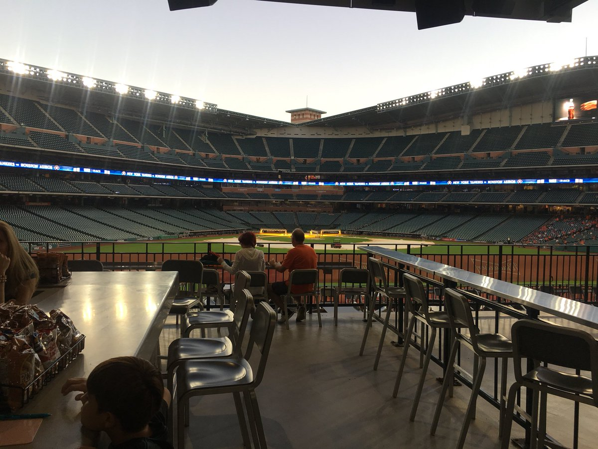 At @MinuteMaidParks enjoying #watch party for @astros #postseason #2017 #ALCS #father-son #baseball #bonding<br>http://pic.twitter.com/PUXzD6CaqG