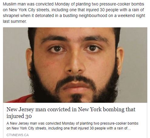 Convicted! Rahimi, inspired by al-Qaida and Islamic State group, planned terror attacks on NYC  https://t.co/VNR0MtQeC7  #MAGA
