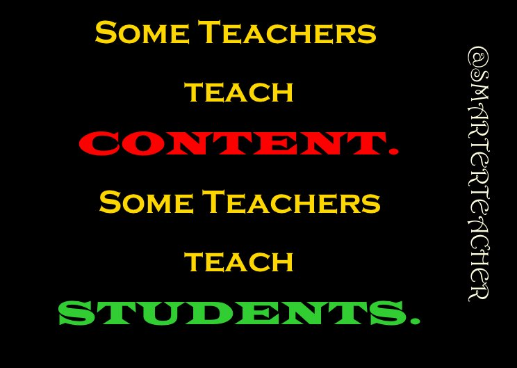 I choose to teach #LEARNING to my #STUDENTS not #Content to a #Test <br>http://pic.twitter.com/DvmeRxJ2VP