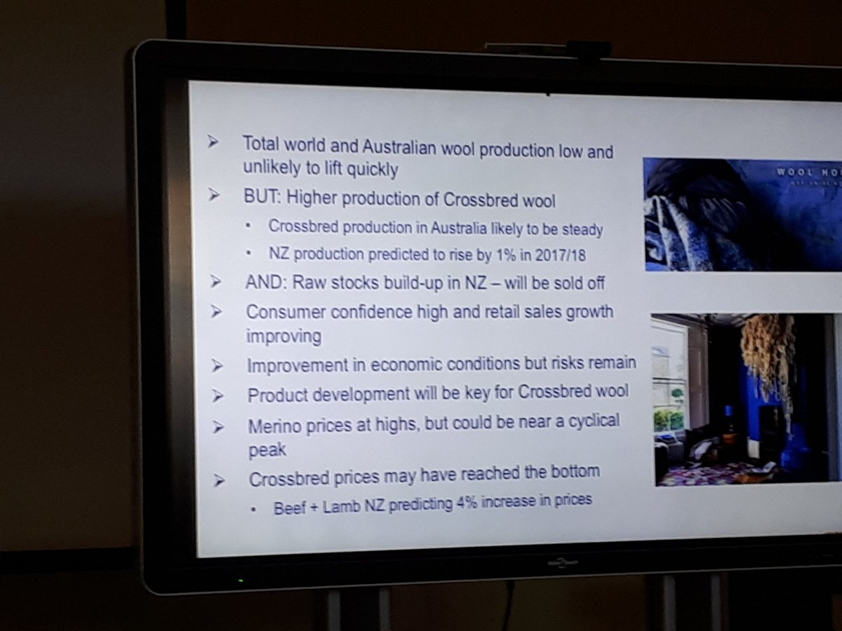 Chris Wilcox position on strong wool market at SW Prime lamb group day. JK