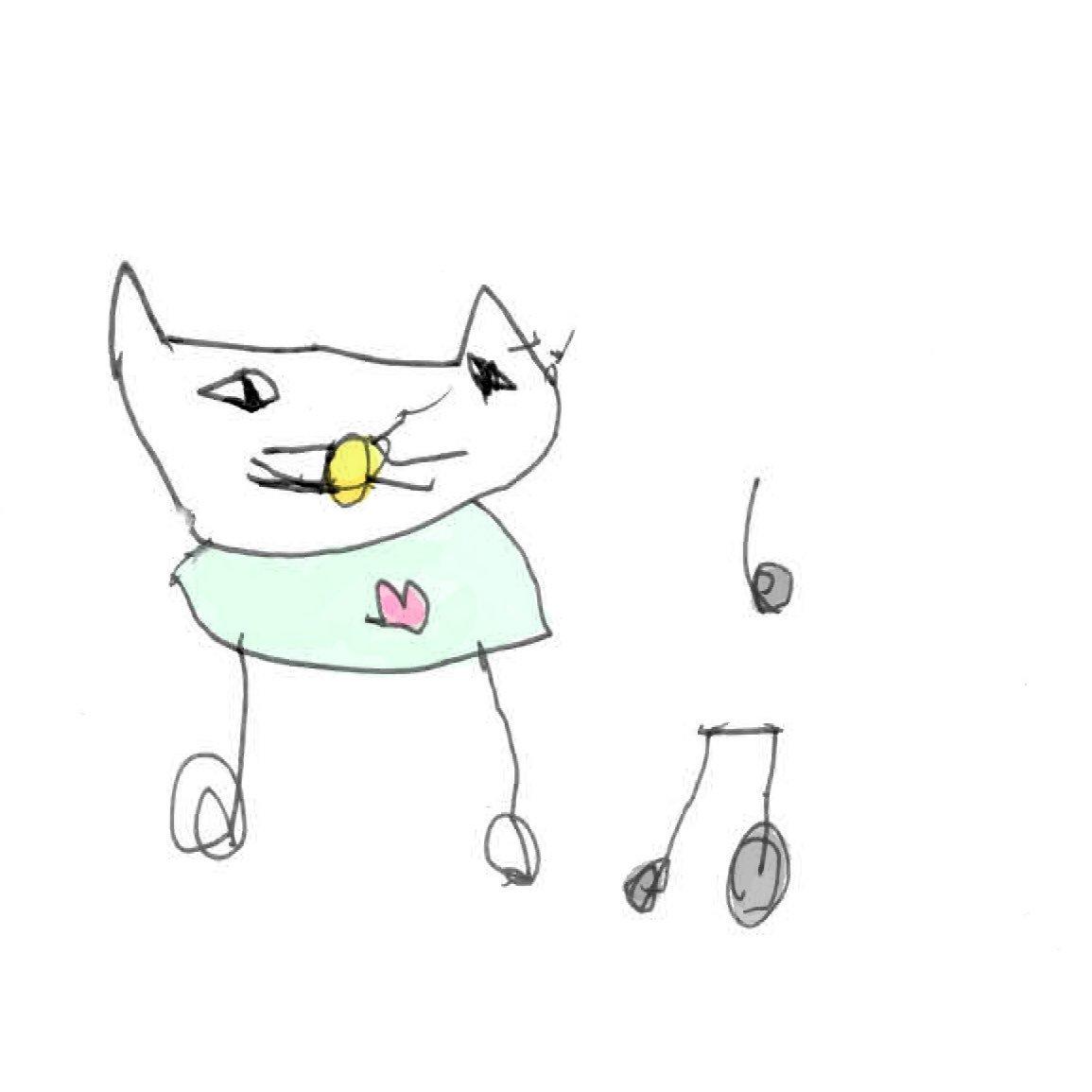 子どもが描いた国民的キャラクター