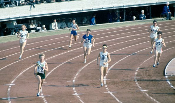 53 years ago today, Betty Cuthbert won @Olympics gold in Tokyo & became the only athlete, male or female to win gold in 100m, 200m & 400m