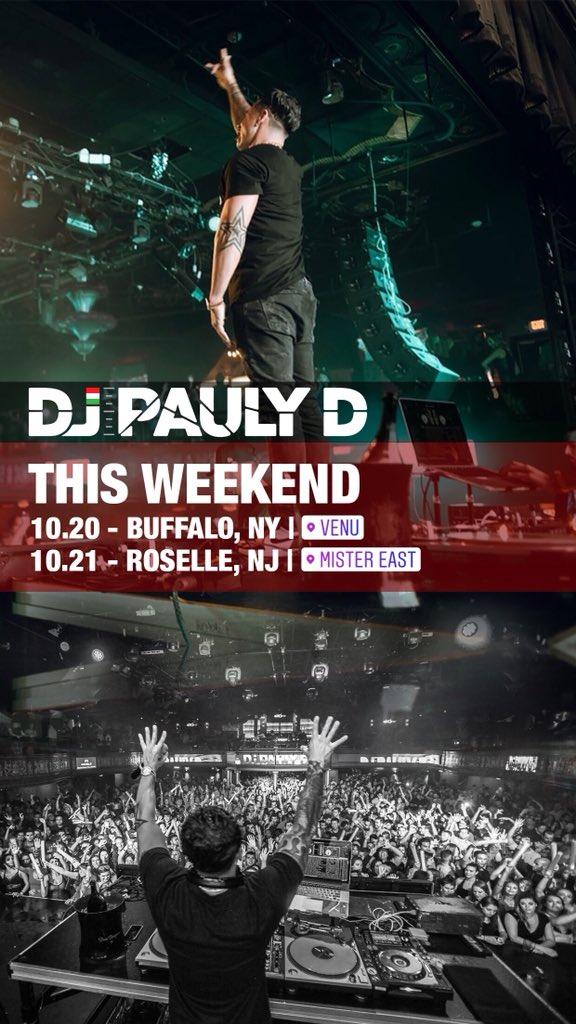 This Weekend !!!!! #djpaulyd #paulyd @VenuBuffalo @mistereastlife https://t.co/d3GOc0LPxs
