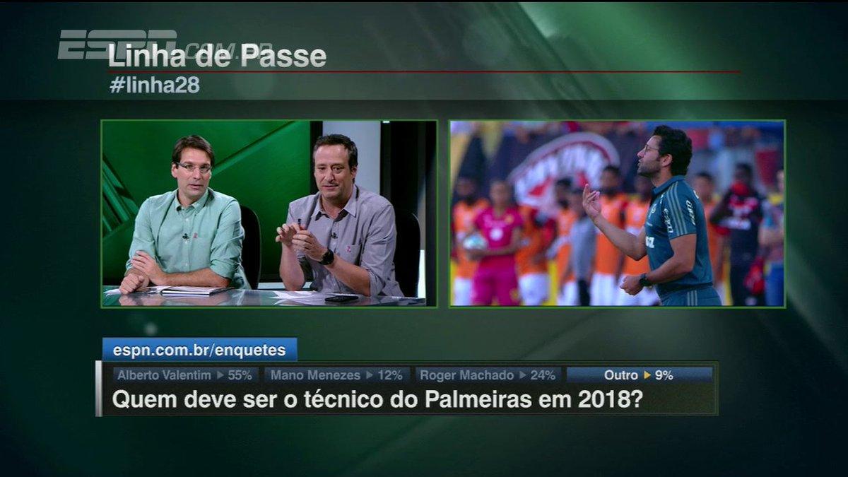.@gianoddi elogia Valentim por não jogar para torcida: 'Melhor jogo do @SEPalmeiras desde que o Cuca voltou#Linha28'https://t.co/Ehd1CkOntm