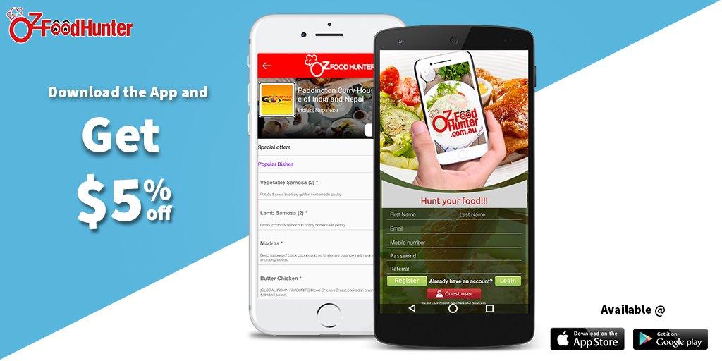 Sign to the App and &gt;&gt; get $5 &lt;&lt; at  https:// goo.gl/SaQpyd  &nbsp;   #food #Mobileapp #Australia<br>http://pic.twitter.com/BnYZPn9SXK