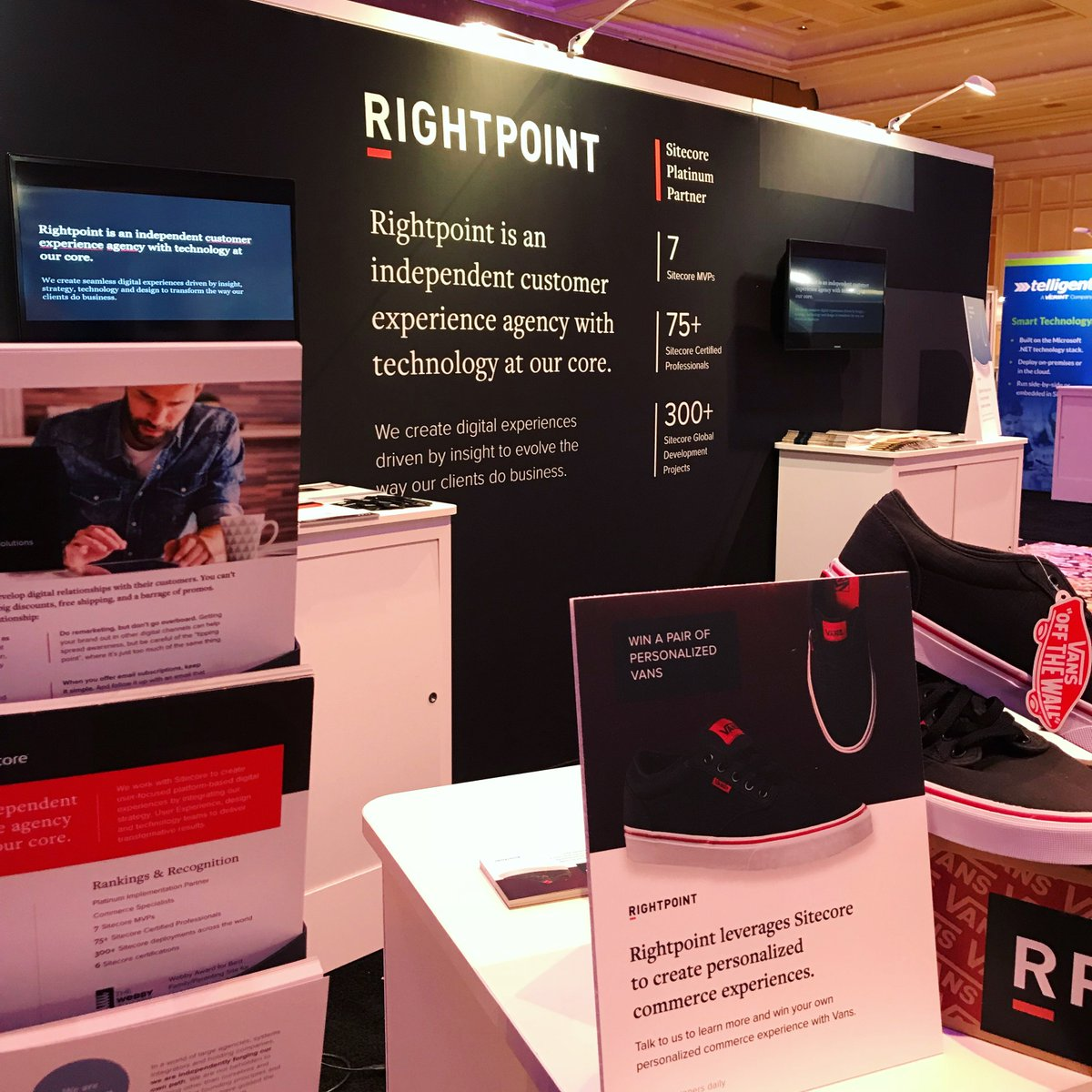 Stop by booth 303 and explore how we leverage @Sitecore to create personalized #commerce experiences! #SitecoreSYM<br>http://pic.twitter.com/nzE9iwawJc