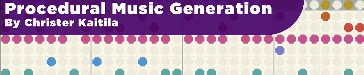 Just published a #gamedev article for #procjam! How to make random #chiptune #retro #music  http://www. procjam.com/tutorials/musi c/ &nbsp; … <br>http://pic.twitter.com/KPrqSfhNsd