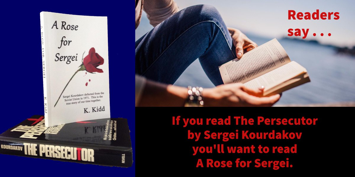 A Rose for Sergei-Intriguing true story abt Soviet KGB defector #Nonfiction #Russia #Romance    https://www. amazon.com/Rose-Sergei-K- Kidd-ebook/dp/B00LRZCWCG/ref=tmm_kin_swatch_0?_encoding=UTF8&amp;qid=1508184668&amp;sr=8-1 &nbsp; … <br>http://pic.twitter.com/jv5gmC7I2P