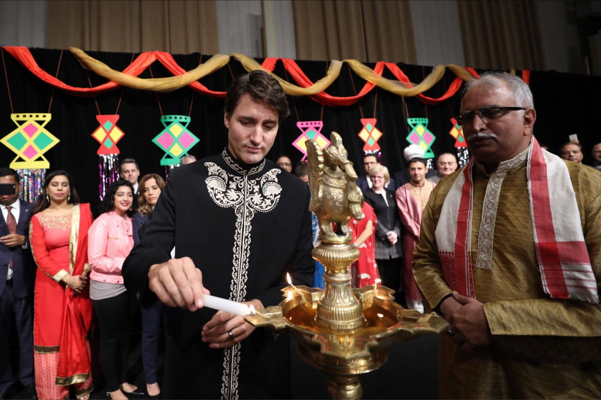 Diwali Mubarak! We're celebrating in Ottawa tonight. #HappyDiwali! htt...