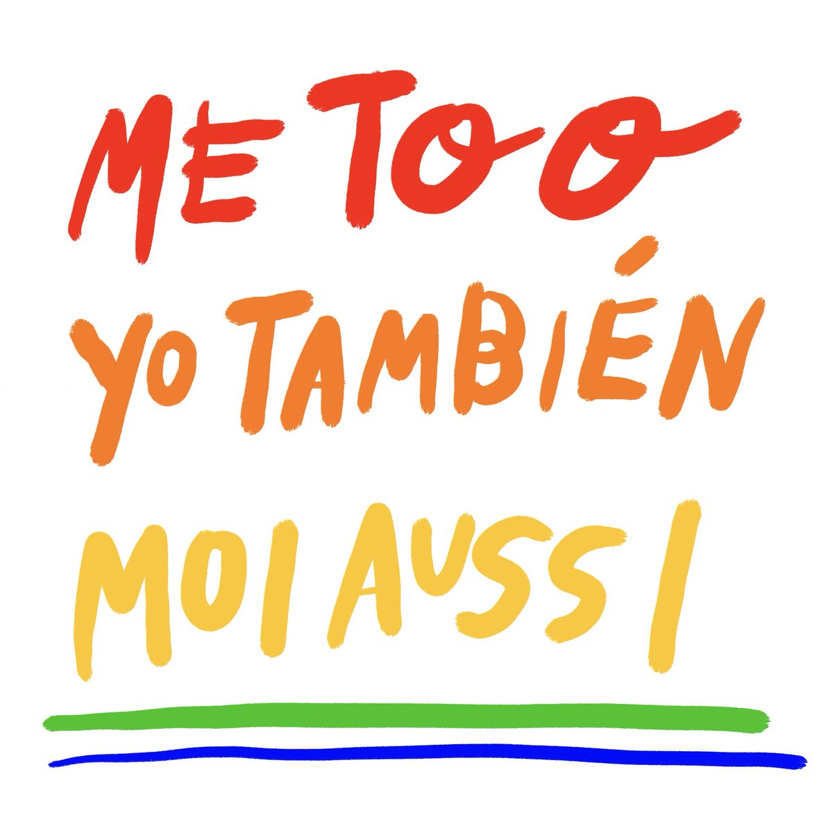#MeToo #YoTambien #MoiAussi Visibility is the first step. There is no...