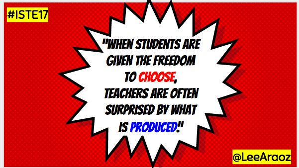 I make an effort to weave student choice into as many lessons as I can. #EDpiper Read more about it here:  http:// thegoldenageofeducation.com  &nbsp;  <br>http://pic.twitter.com/ZmLV0WlqQO