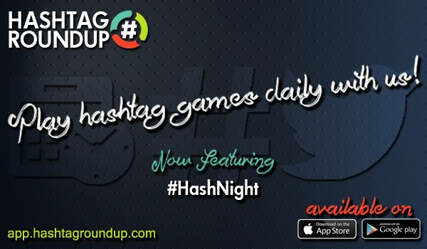 #ItsBestIfYou is Monday's @HashNight hosted by @LievensATweet @theclob...