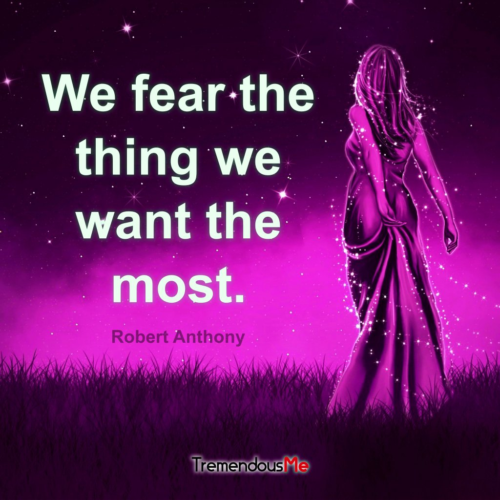 We fear the thing we want the most. — Robert Anthony #fear #want #most #robertanthony #quote #webapp #iphoneapp #androidapp #mobileapp <br>http://pic.twitter.com/1Q0ZuxE1yp