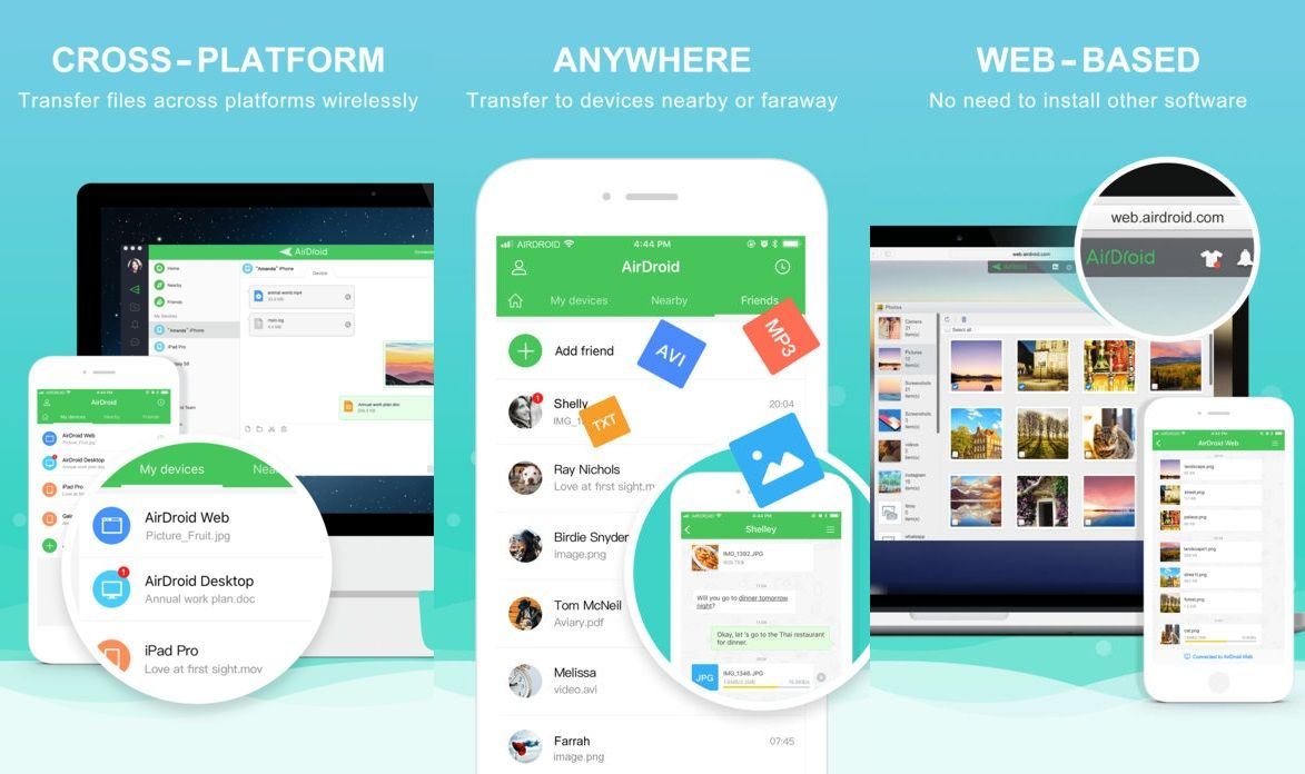#AirDroid Is Now Available On #iOS, Allows You To Easily Transfer Files #Wirelessly Across Platforms   https:// buff.ly/2yrK7Ju  &nbsp;  <br>http://pic.twitter.com/RruOcuE2LP
