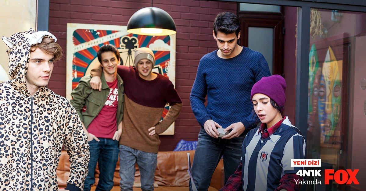 Birbirinden çılgın 5 arkadaşın sıkı dostlukları dizi oluyor. #4N1K yak...
