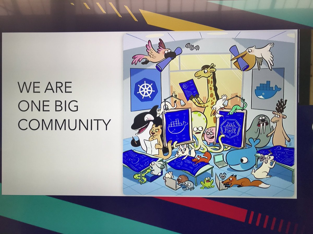 #Kubernetes support in #Docker announced at #DockerCon<br>http://pic.twitter.com/iidtcSJbba