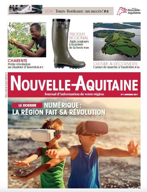 Nouvelle Aquitaine On Twitter Le Nouveau Journal De La Region Est