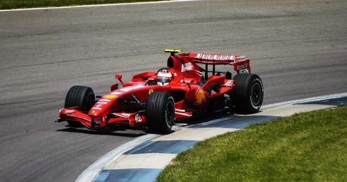 Happy 38th birthday to Ferrari\s Kimi Raikkonen  267 starts and counting in his 15th season in F1