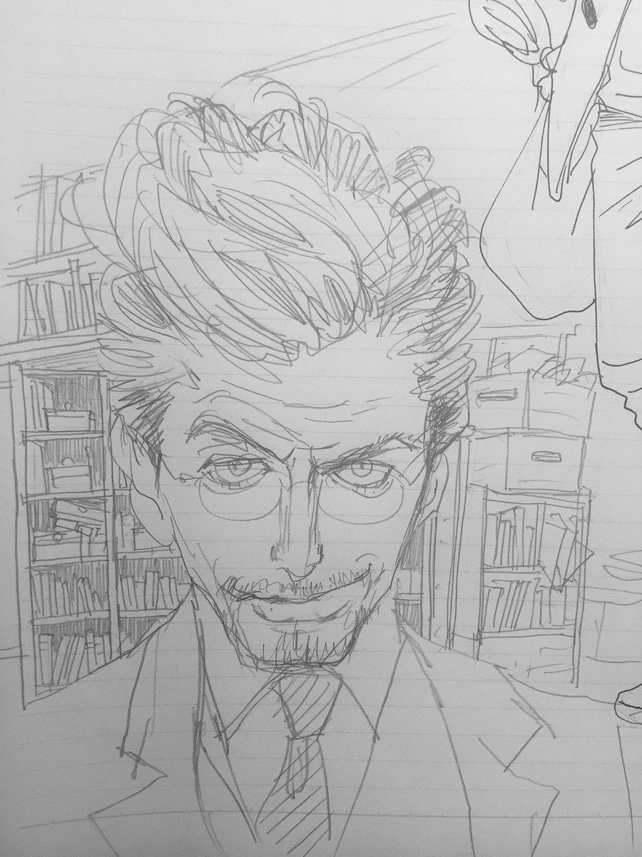 安野さんのスケッチブックの中身📔 今日のテーマはスーツ男子だそうです。…昨日の私の投稿が元に…??担当編集(まりも)