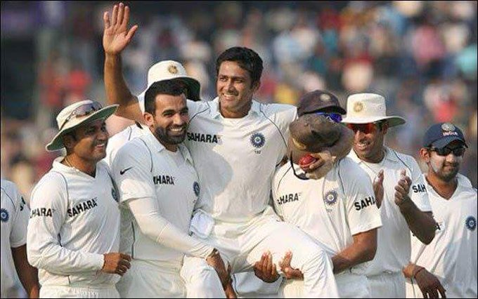 Wishing a very happy birthday to former skipper Mr. Anil Kumble