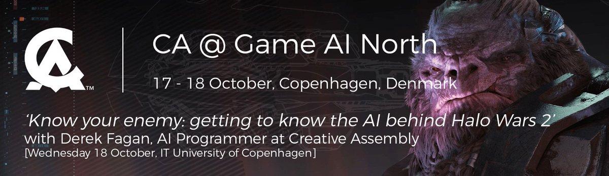Our AI Programmer, Derek Fagan, is @GameAINorth this week talking about the AI of Atriox #gameai #gain17  http:// gameainorth.com / &nbsp;  <br>http://pic.twitter.com/GL2IKnYO5Z