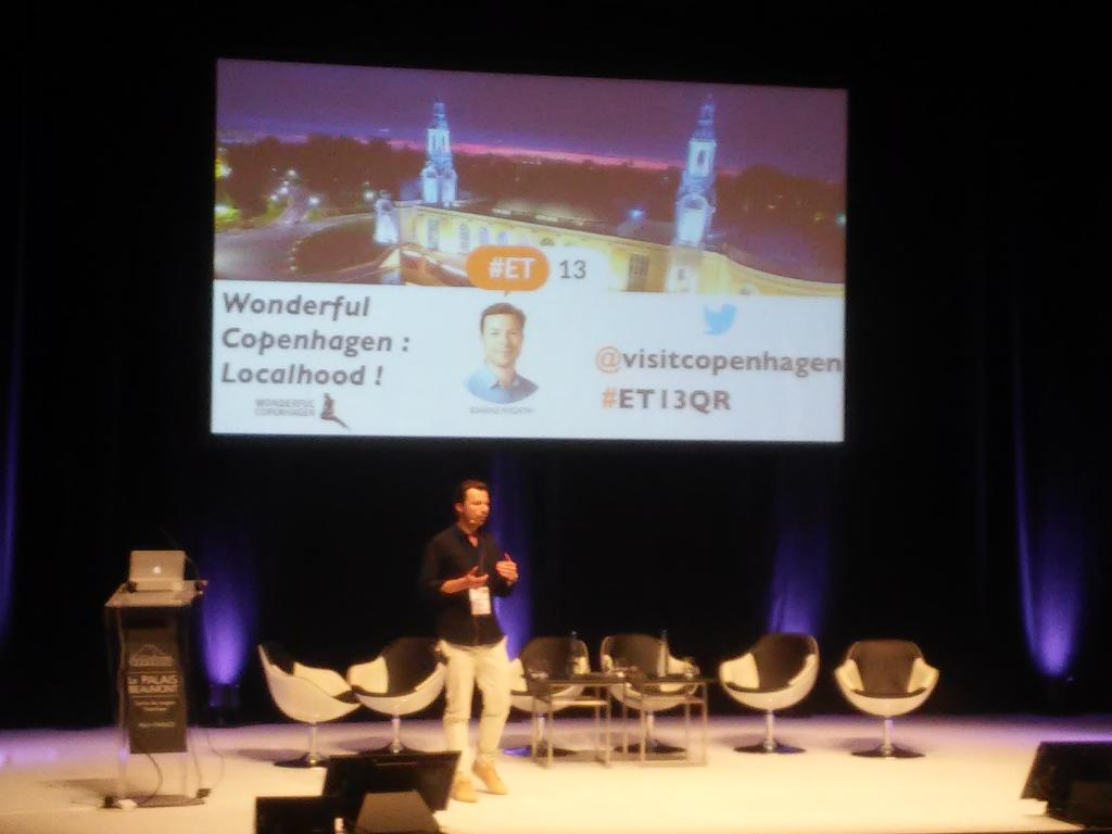 Blarke Hjort from #Copenhague about #localhood and the end of #tourism as we know it @Etourisme  #Pau <br>http://pic.twitter.com/jQQjRVnOKh