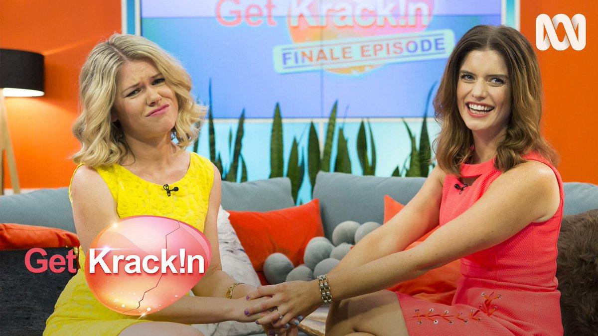 The @getkrackinshow season finale is here! Say it isn't so! 😭 #GetKrac...
