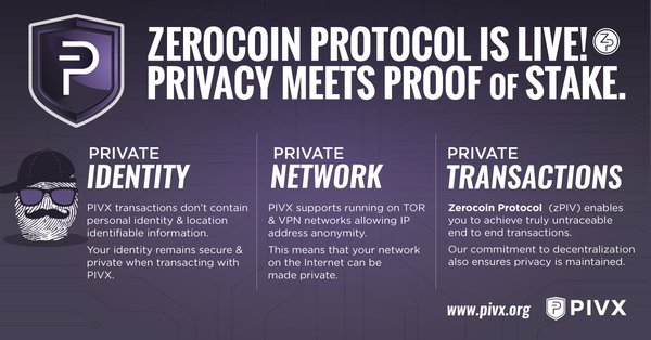 Identity, network, &amp; transactions are completely #private. #zPIV enables untraceable, end-to-end transactions.  http:// thndr.me/DSTA4j  &nbsp;   #PIVX<br>http://pic.twitter.com/ubB4bQFRfQ