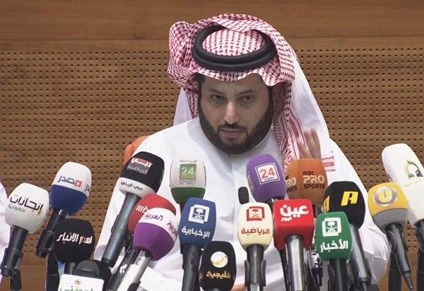 المستشار تركي آل الشيخ، رئيس الهيئة العا...