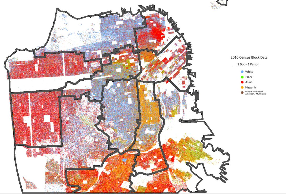 Us Racial Dot Map - Us census map by race