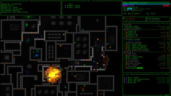 Roguelike sci-fi epic &quot;Cogmind&quot;  http:// store.steampowered.com/app/722730/Cog mind/ &nbsp; …  #gamedev #indiedev #indiegame #rpg #scifi #adventure #pixelart #story #games #gaming<br>http://pic.twitter.com/wXME9QD6xJ