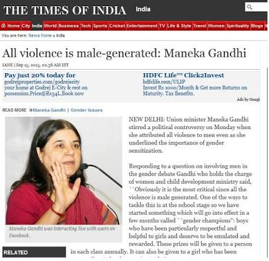 @Manekagandhibjp when u have to make decision then why #Company have #legal cell for #Women.please remove all #male #employee from #MNC<br>http://pic.twitter.com/vwgQswkWBa