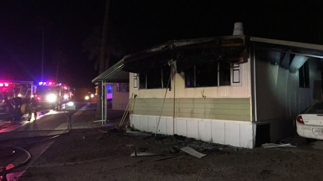 Man using propane torch to burn spiders suspected of starting mobile home fire https://t.co/rlHDuN3WO0