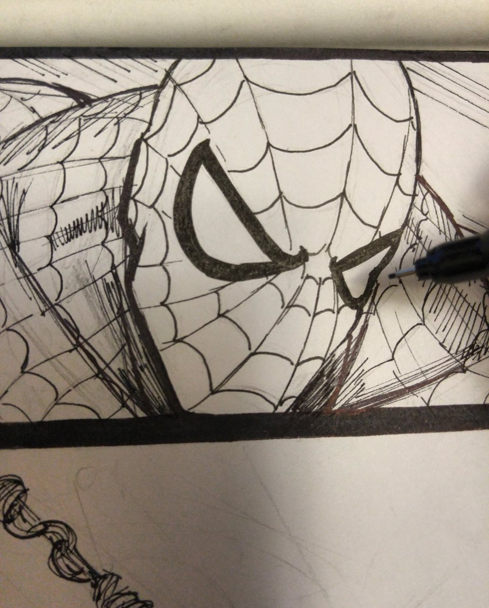 A little Spiderman before I call it a night  #Spiderman #MarvelLegacy <br>http://pic.twitter.com/x4DTuB0uzI