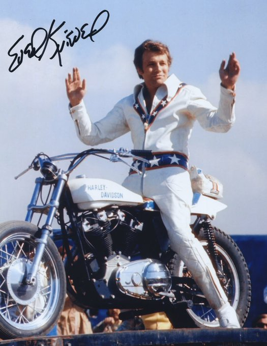 Happy Birthday to Evel Knievel who would have turned 79 today!