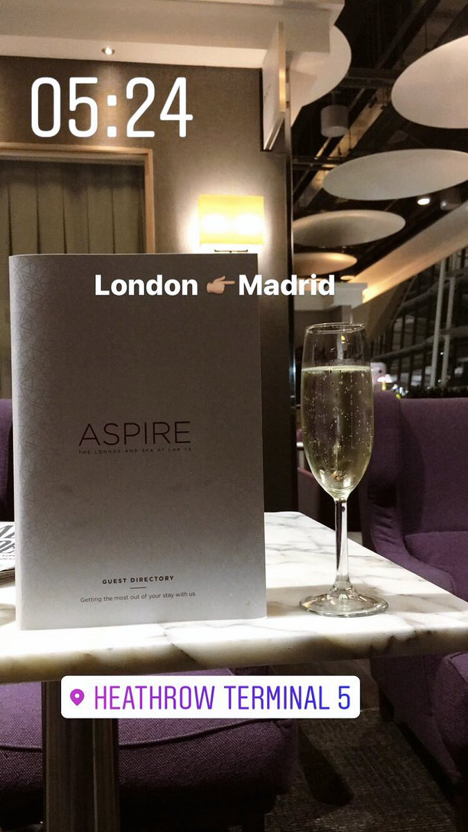 Madrid bound #COYS https://t.co/OcQoEoMh47