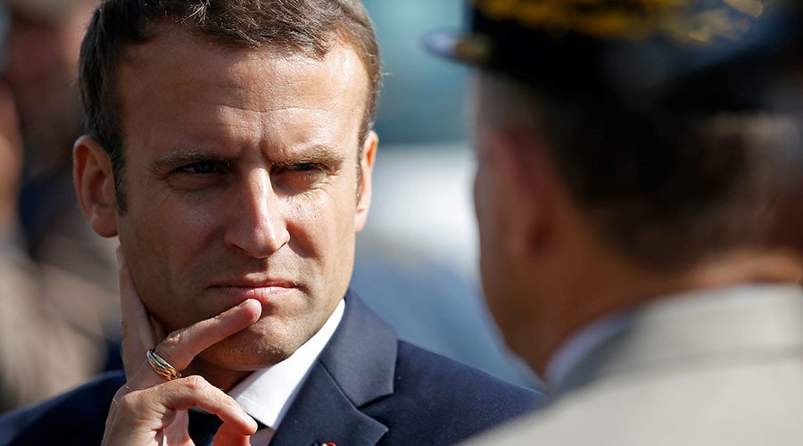 &#39;We&#39;re taking care of France&#39;: #Macron vows to deport all criminal undocumented migrants   https:// on.rt.com/8px0  &nbsp;  <br>http://pic.twitter.com/INUJ0p1QTB