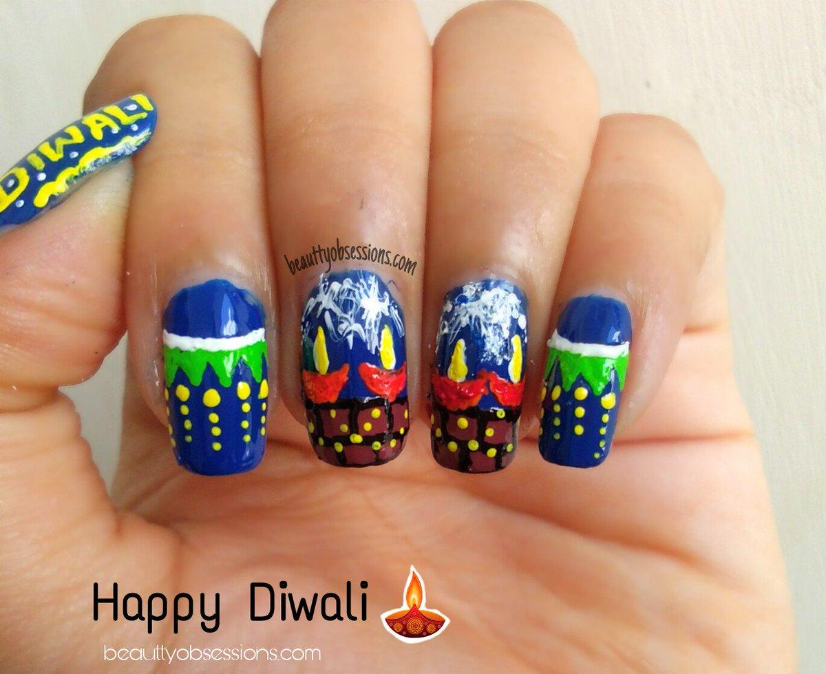 Snigdha P On Twitter Nailart Inspired By Diwali Diya And Toran Happy Diwali Sharemyposttoday Https T Co Ztvtdrqayh Phathakablogtrain Phuljhadibloggers Https T Co Tockeidcol