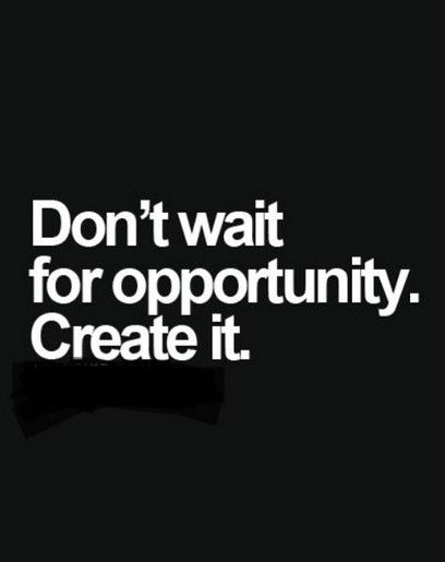 https://t.co/vBxnI8Nmee Create Your Opportunity! #wednesdaywisdom #wea...