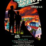 ANNOUNCEMENT: @ASITISofficial to play headline UK tour in Mar 18 w/ @LikePacific + @GrayscalePA! Tickets on sale Thur, 9am.