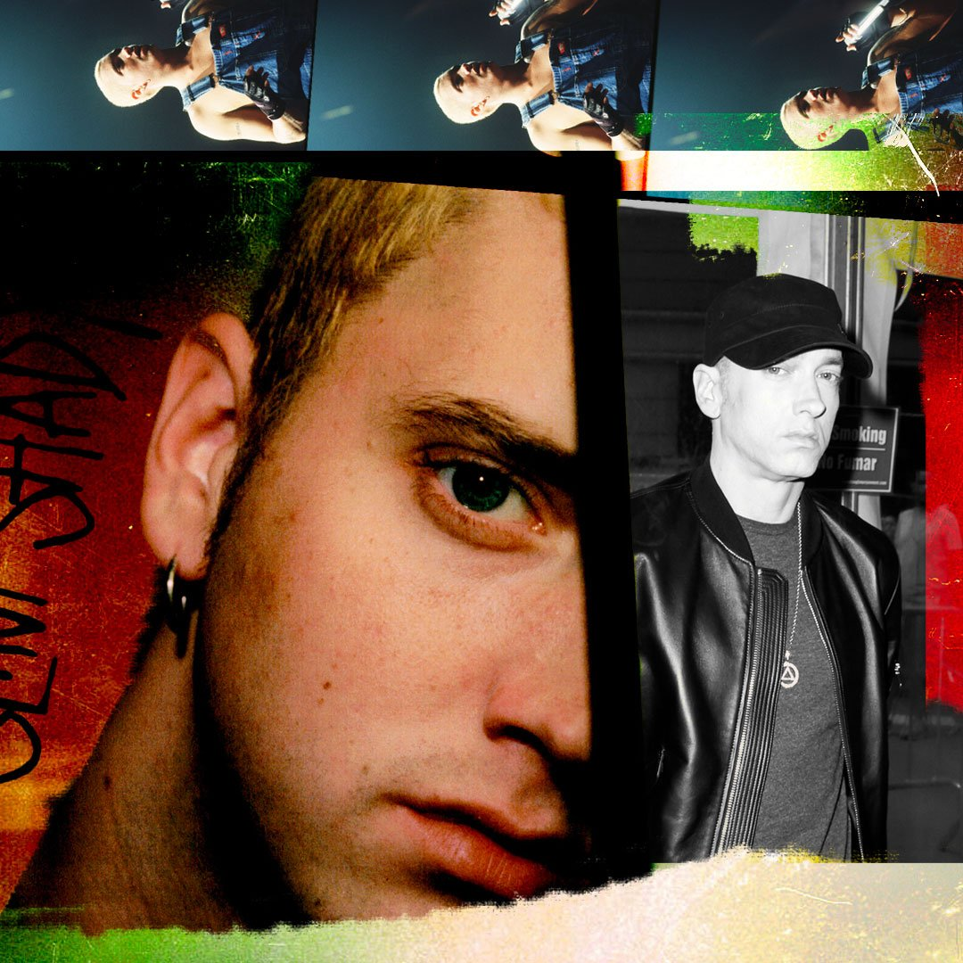 Happy birthday to the real slim shady   You will always be the one and only Rap God!