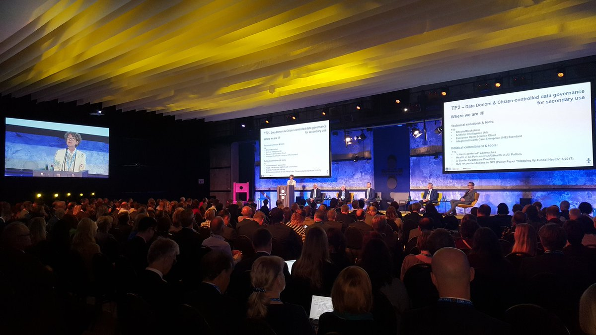 The 2nd day of #eHealthTallinn is kicked off with a packed audience. A great day ahead of us! #EU2017EE <br>http://pic.twitter.com/P6KZfcVnAe
