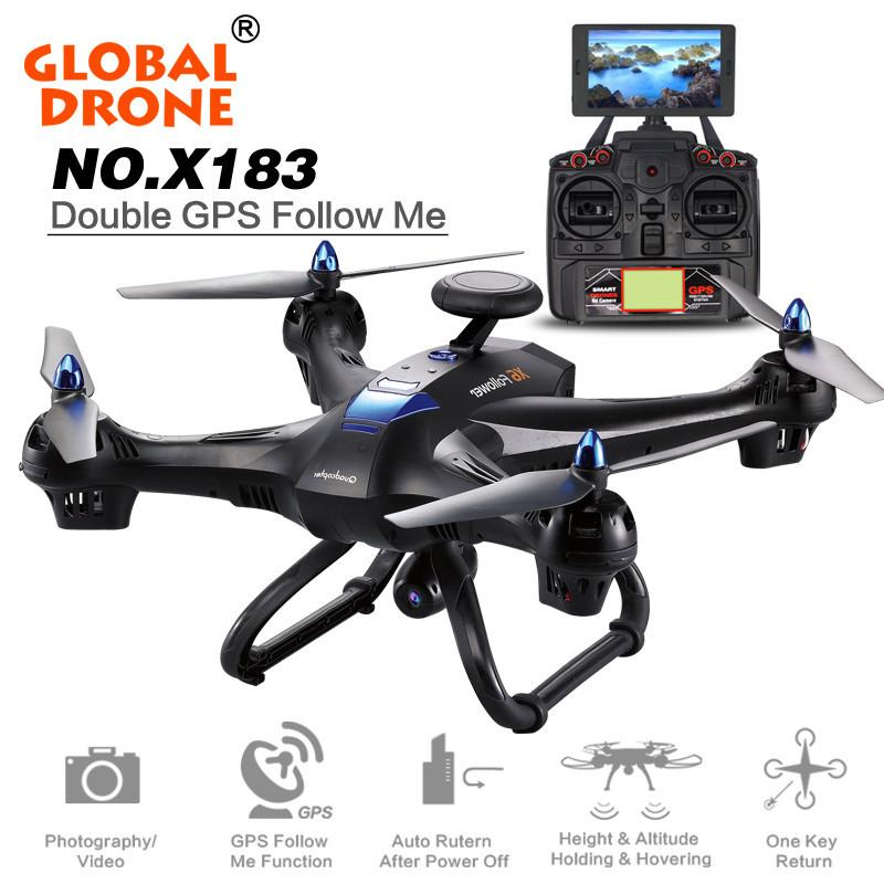 RC drone Global Drone 6-axes X183 With 2MP WiFi FPV HD Camera GPS Brushless Quadcopter H #wireless #copter #game  https:// seethis.co/WLZ0y6/  &nbsp;  <br>http://pic.twitter.com/z6nE3AyvdP