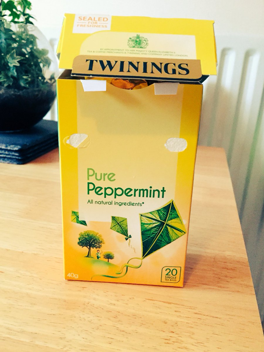 Have @TwiningsTeaUK changed their peppermint tea? We opened this packet and the peppermint was definitely missing! #mintlesstea #twinings <br>http://pic.twitter.com/vcaFghgFXK